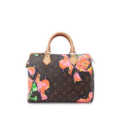 Pre-Owned Louis Vuitton x Stephen Sprouse Monogram Floral Speedy 30