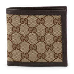 New Gucci Brown Ebony Canvas Leather Micro Gg Guccissima Bifold Wallet Coin Pouch