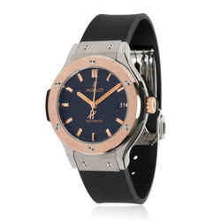 Hublot Classic Fusion 565.NO.1181.RX Unisex Watch in 18kt Titanium/Rose Gold