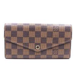 Louis Vuitton Damier Ebene Neo Sarah Long Wallet