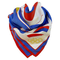 HERMES 1984 Summer Olympics Silk Scarf