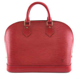 Louis Vuitton Alma Pm Red Epi Leather