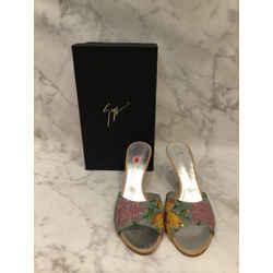 Giuseppe Zanotti Size 9 Multi-Color Sandals