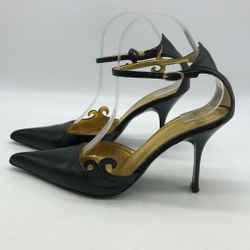 Giuseppe Zanotti Leather Ankle Strap Size 9