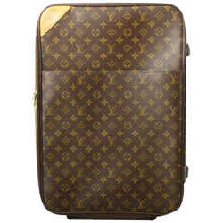 Louis Vuitton Monogram Pegase 55 Rolling Luggage Suitcase Carry-On 861930