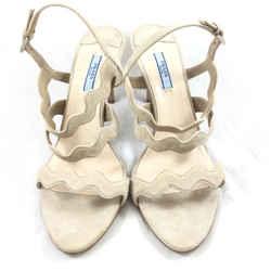 Prada Suede Strappy Heels. Size 40