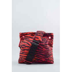 Kenzo x H&M Red Zebra Print Nylon Crossbody