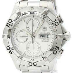 Polished TAG HEUER Aquaracer Chronograph Quartz Mens Watch CAF2011 BF516854
