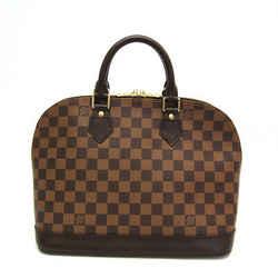 Louis Vuitton Damier Alma N51131 Women's Handbag Ebene BF517126