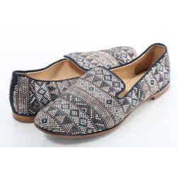 Giuseppe Zanotti Crystal Embellished Pattern Flats