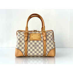 Louis Vuitton Damier Azur Berkeley Satchel Handbag