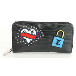 Louis Vuitton Zippy Epi Patches Capsule Printed Wallet