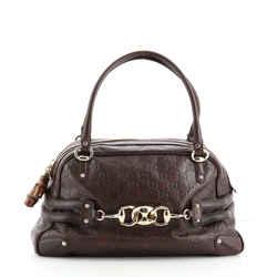 Wave Boston Bag Guccissima Leather Medium