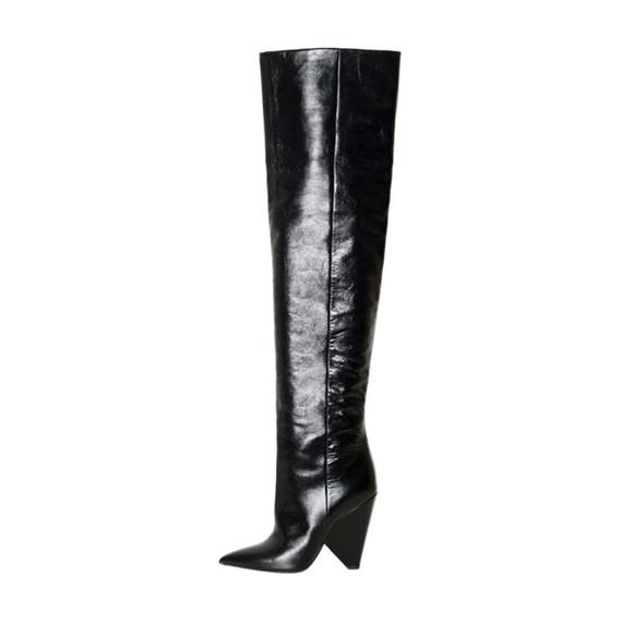 Saint Laurent Thigh-high Boots