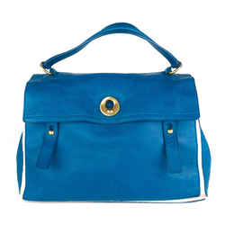 Muse Two Bicolour Calf Leather Handbag