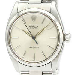 Vintage ROLEX Oyster Precision 6426 Steel Hand-Winding Mens Watch BF522039