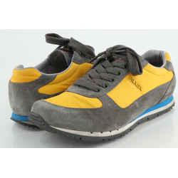 Prada Suede Low Top Sneakers