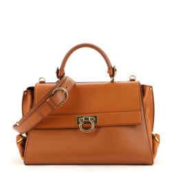Sofia Satchel Smooth Leather Medium