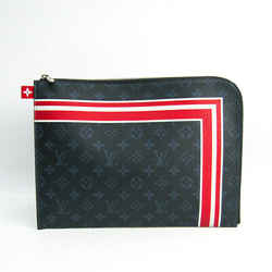 Louis Vuitton Pochette Jules Gm M61679 Men's Clutch Bag Monogram Cobalt Bf511057