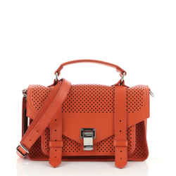 PS1 Satchel Perforated Leather Tiny