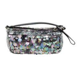 Prada Palliates Silver Shoulder Bag