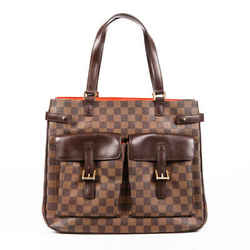 Louis Vuitton Bag Uzes Damier Ebene Coated Canvas Tote