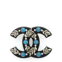 Paris-Greece CC Brooch Embellished Resin with Metal