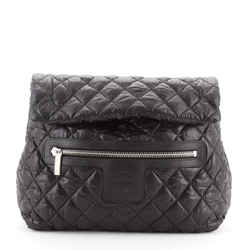 Coco Cocoon Flap Backpack Quilted Nylon