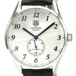 Polished TAG HEUER Carrera Heritage Calibre 6 Automatic Watch WAS2111 BF527432