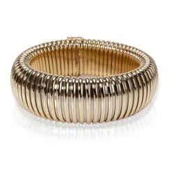Cartier Tubogas Bracelet In 18k Two Tone Gold