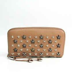 Jimmy Choo Filipa Ltr 0c3063 Star Studs Women's Leather Long Wallet (bi Bf509759