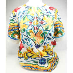 Dolce&Gabbana Cotton Floral Print Top