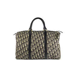 Christian Dior Navy Monogram Trotter Boston Duffle Bag 861820