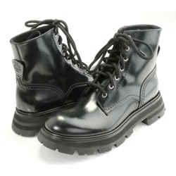 Alexander McQueen Combat Ankle Boots