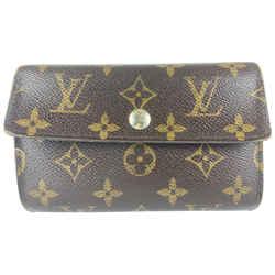 Louis Vuitton Monogram Snap Wallet 2lv78