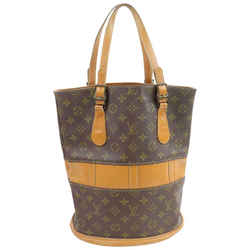 Louis Vuitton Rare French Co USA Monogram Marais Bucket GM Tote Bag  858455