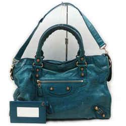 Balenciaga Green Giant The City 2way Shoulder Bag 861545