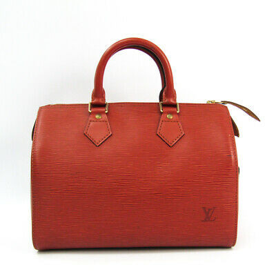 Louis Vuitton Epi Speedy 25 M43013 Handbag Kenyan Brown Bf509958