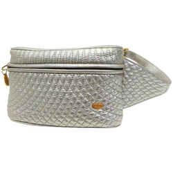 Bally Quilted Waist Pouch Fanny Pack 859672