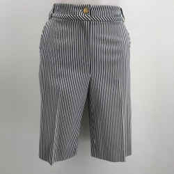 St John Striped Bermuda Short Size 8
