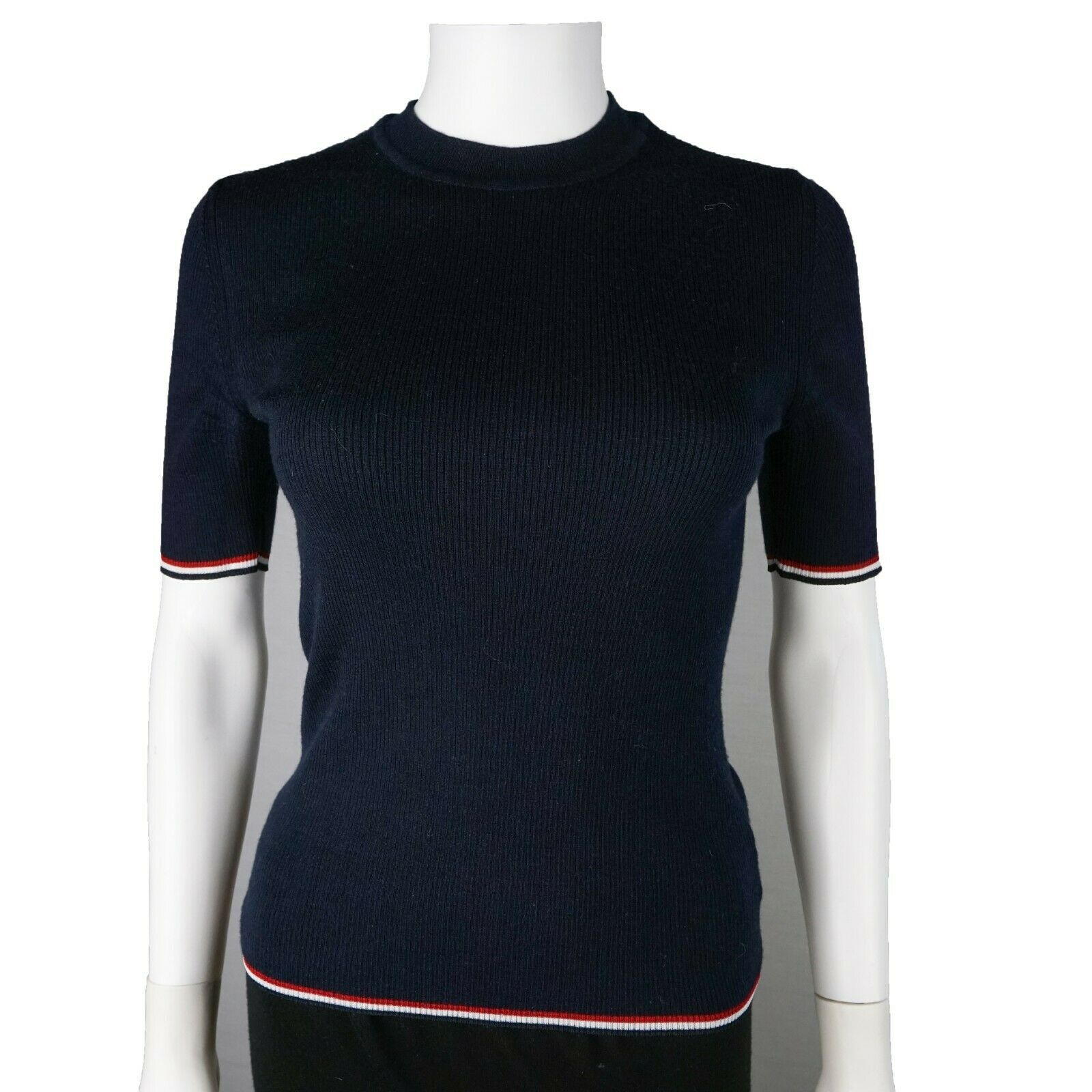 Woldorf USA Two Tone Rashguard in Black//Red Full Sleeve size L no logo