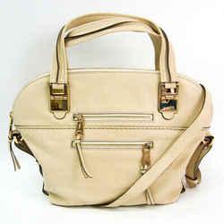 Chlo Angie 3S0190 Women's Leather Handbag,Shoulder Bag Ivory BF515113