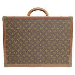 Authentic Louis Vuitton Cotteville 50 Vintage Monogram Signature Trunk Luggage Logo S Travel Case
