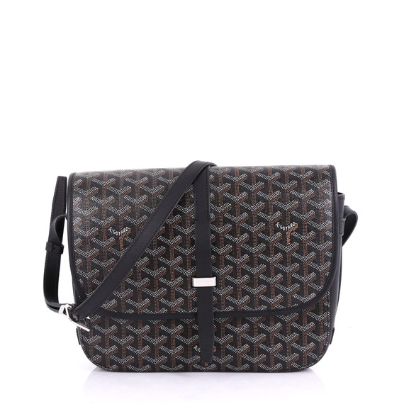 Goyard Belvedere II Messenger Bag Coated Canvas MM