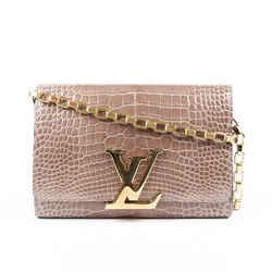 Louis Vuitton Chain Louise GM Alligator Bag