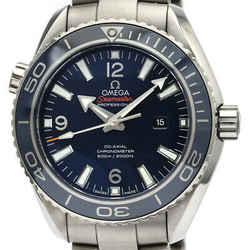 Polished Seamaster Planet Ocean 600M Titanium Watch 232.90.38.20.03.001 BF516324