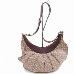 Louis Vuitton Monogram Bordeaux Sepia Monogram Mini Lin Rhapsodie Croissant 871483
