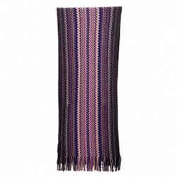 Missoni   Metallic Wavy Knit Scarf