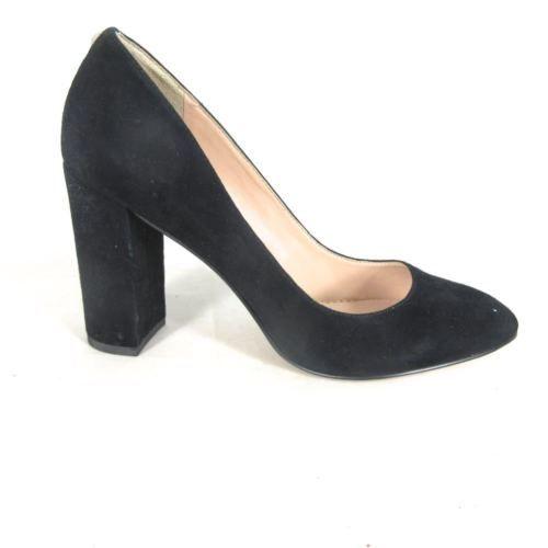 7.5 - Sam Edelman Black Suede Leather