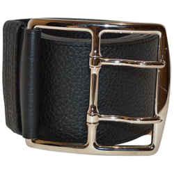 Hermes Chocolate Dark Brown Waist Belt